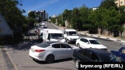 Пробка в Севастополе