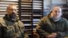 Павел Ботка (л) та Їржі Урбанек дають інтерв'ю інформаційному агентству «Новороссия»