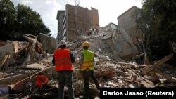 Наслідки землетрусу у Мехіко, Мексика, 19 вересня 2017 року