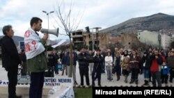 Protesti u Sarajevu i Mostaru 16.2.2014.