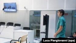 Станислав Лисов в Мадридском суде, 20 июля 2017 года