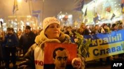 Хода на честь Бандери 1 січня 2014 року, Київ