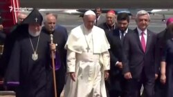Pope Francis Begins Three-Day Visit To Armenia