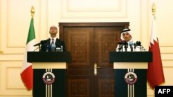 Министр иностранных дел шейх Катара Мухаммед бин Абдулрахман аль-Тани.