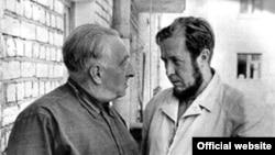 Н.Тимофеев-Ресовский и А. Солженицин. Обнинск