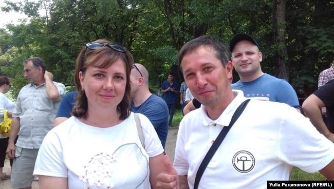 Елена и Виталий Лим, Калининград