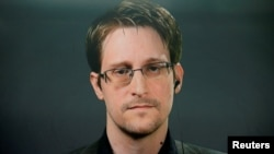Бывший контрактник Агентства национальной безопасности (АНБ) США Эдвард Сноуден.