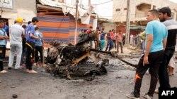 Nakon jednog od napada u Bagdadu 20. maja 2013.