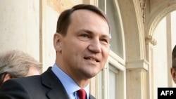 Polish Foreign Minister Radoslaw Sikorski