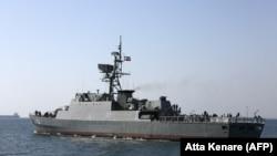Боен кораб на иранския флот