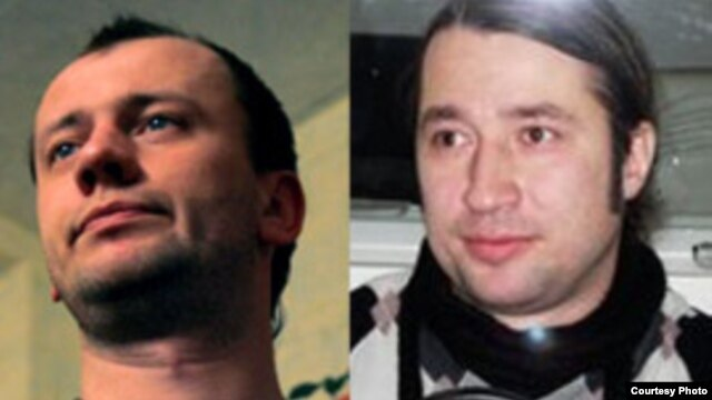 Journalists Vyacheslav Kochetkov (left) and Igor Naidenov are missing in Georgia.