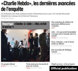 Libération online astăzi
