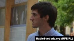Азаттықтың Украин қызметінің журналисі Левко Стек.