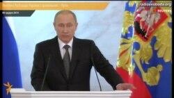 Політика Росії щодо України є правильною – Путін