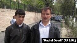 Эрадж Исоев и Кахрамон Умаров