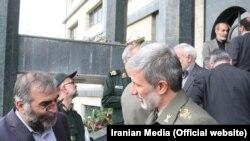 Иранскиот министер за одбрана Амир Хатами и неодамна убиен Мохсен Фахризадех