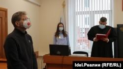 Евгений Гурьев в Кировском суде Уфы. 25 ноября 2020 года