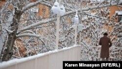Ձմեռը Երևանում, արխիվային լուսանկար
