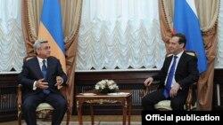 Սերժ Սարգսյանի և Դմիտրի Մեդվեդևի հանդիպումը Մոսկվայում, արխիվ