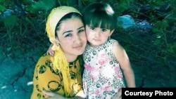 Омина с мамой