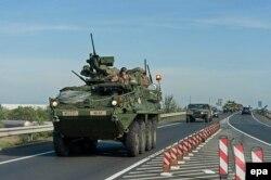Учения НАТО в Венгрии. 2015 год