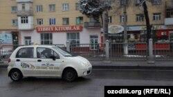 """O'zbekistondagi taksilarning ko'pi """"Matiz"""" rusumida."""