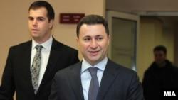 Премиерот и лидер на ВМРО-ДПМНЕ Никола Груевски.