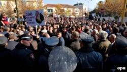 Pamje nga protesta e sotme