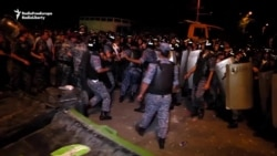 Armenian Police Clash With Demonstrators Supporting Violent Opposition Group