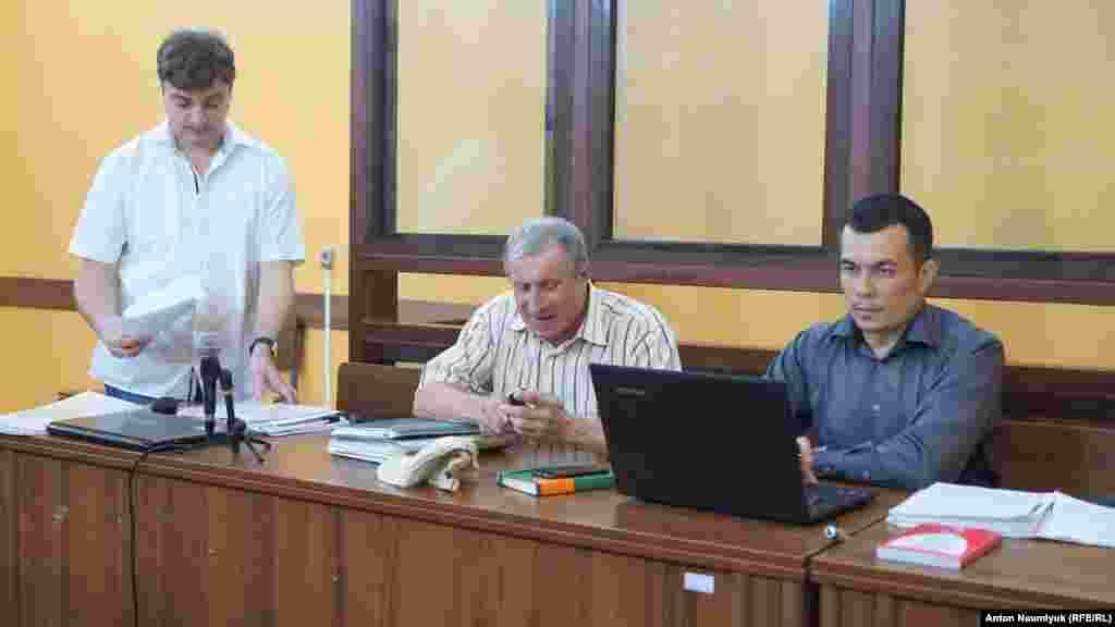 Засідання у «справі Семени» в Залізничному суді Сімферополя