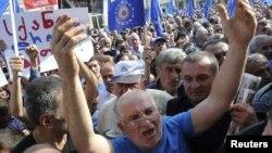 Оппозиция тарапкерлеринин митинги