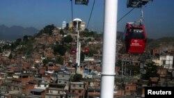 نمای از شهر ریو برازیل