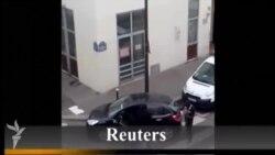 Paris terrororunun yeni atışma videosu