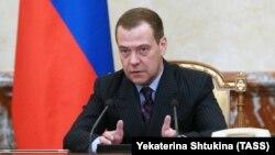 Глава правительства России Дмитрий Медведев.