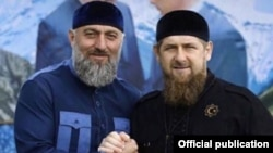 Депутат Госдумы Адам Делимханов и глава Чечни Рамзан Кадыров