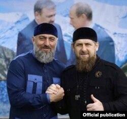 Адам Делимханов и Рамзан Кадыров