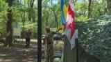 grab: georgian fighters in ukraine