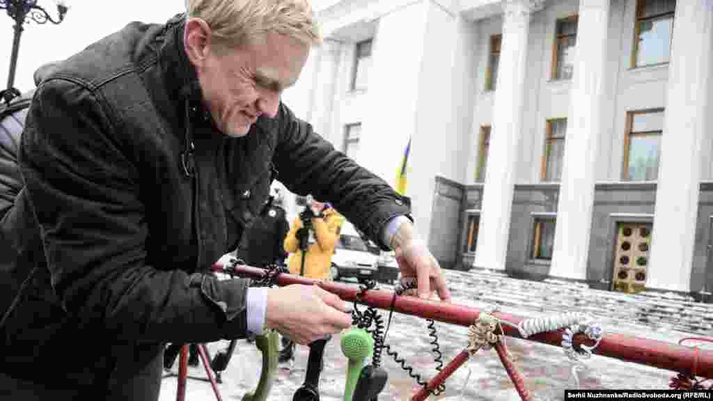 Віталій Шабунін підтримує законопроект №4812, щоб надати НАБУ право на «прослушку»