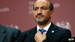 Сурия Миллий коалицияси президенти Аҳмад Ал-Асси Ал-Жабра.