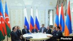Եռակողմ (Հայաստան-Ադրբեջան-Ռուսաստան) բանակցություններ Ղարաբաղի հակամարտության խաղաղ կարգավորման շուրջ Կազանում, 24 հուլիս, 2011