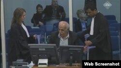 Ismet Svaraka svjedoči na suđenju Ratku Mladiću, 5. studeni 2012.