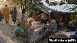 بیجا شدگان نبردهای اخیر در کابل