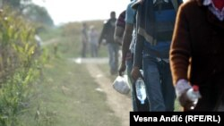 Migrants Pour Into Croatia