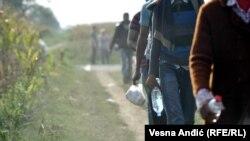 Migrants Pour Into Croatia