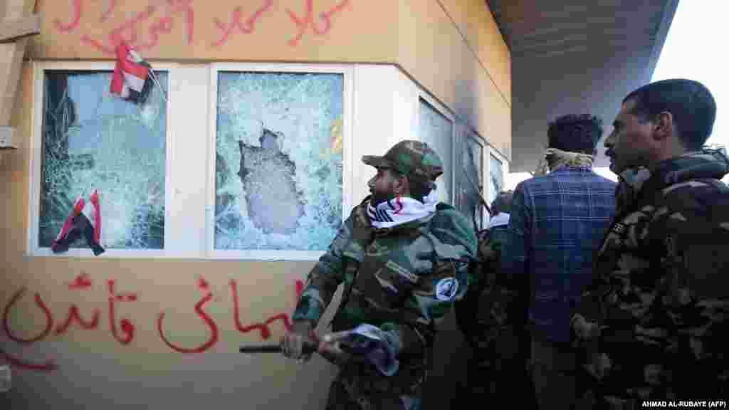 31 декабря 2019 года. Проиранские боевики напали на посольство США в Багдаде. Американские военные полагают, что Сулеймани инициировал это нападение, как и ряд других нападений на силы коалиции в Ираке в последние месяцы