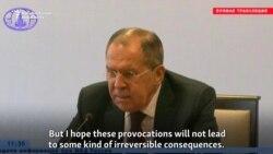 Russian FM Lavrov Compares U.S. Strikes To War In Iraq