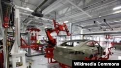 Tesla fabrika, Fremont, California