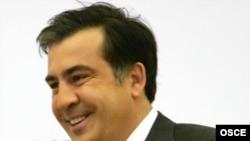 Михеил Саакашвили, Астана, 1 декабря 2010