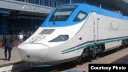 Uzbekistan - spain train Talgo in Uzbekistan