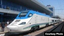 Испанский поезд Talgo